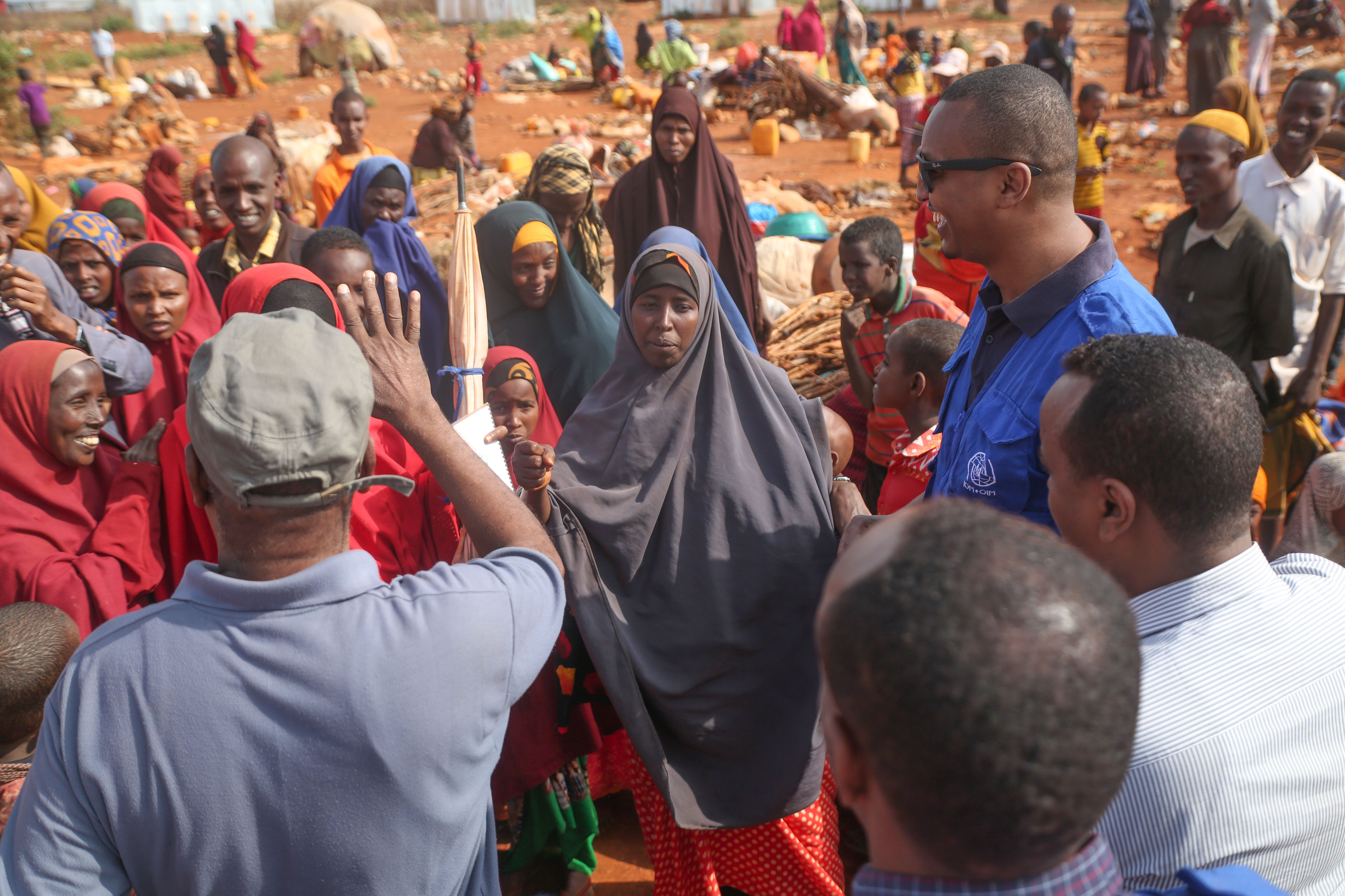 In Somalia, IOM Begins Relocating Families at Risk of Eviction