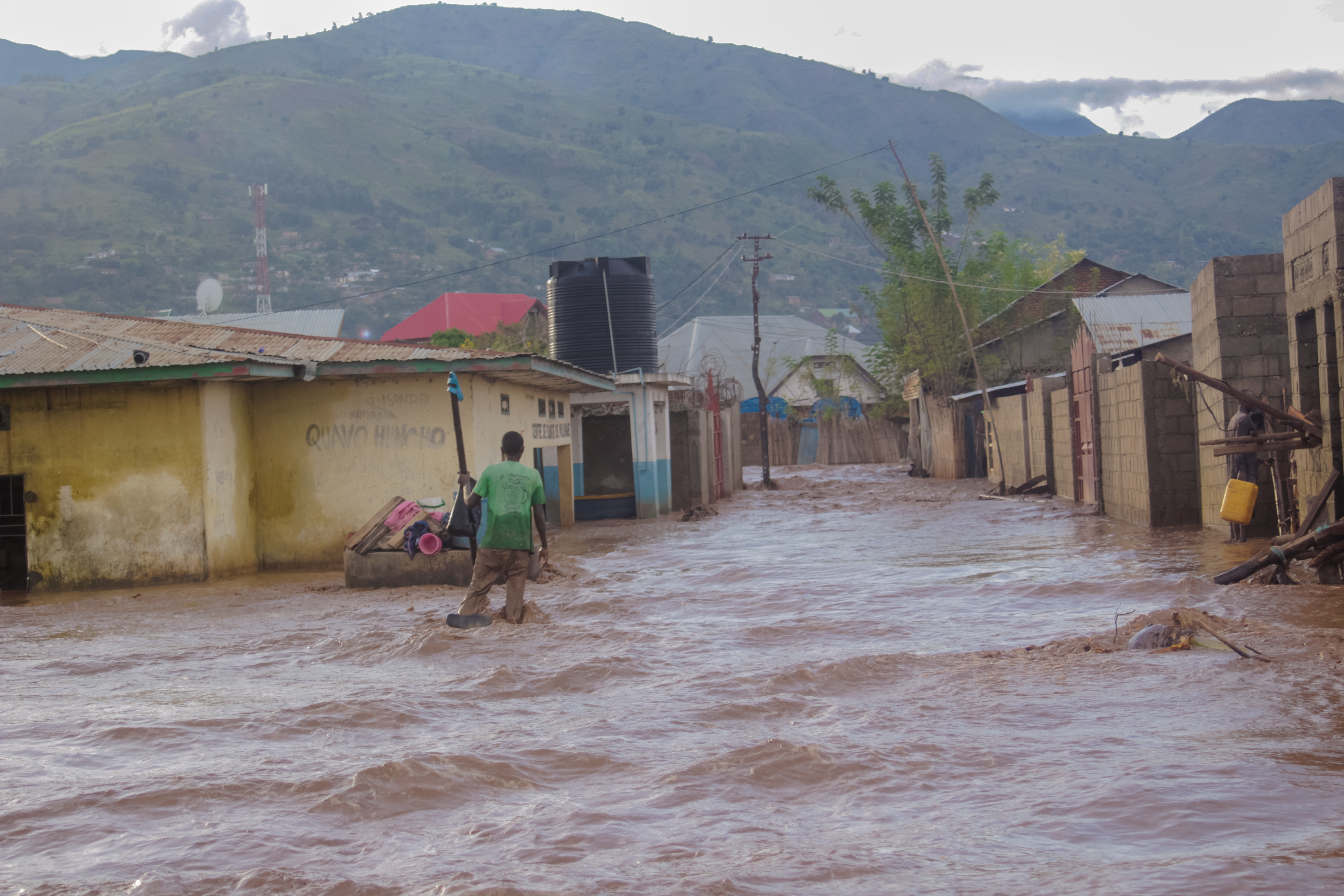 Massive floods in DRC's South Kivu impact 80,000 people, kill dozens