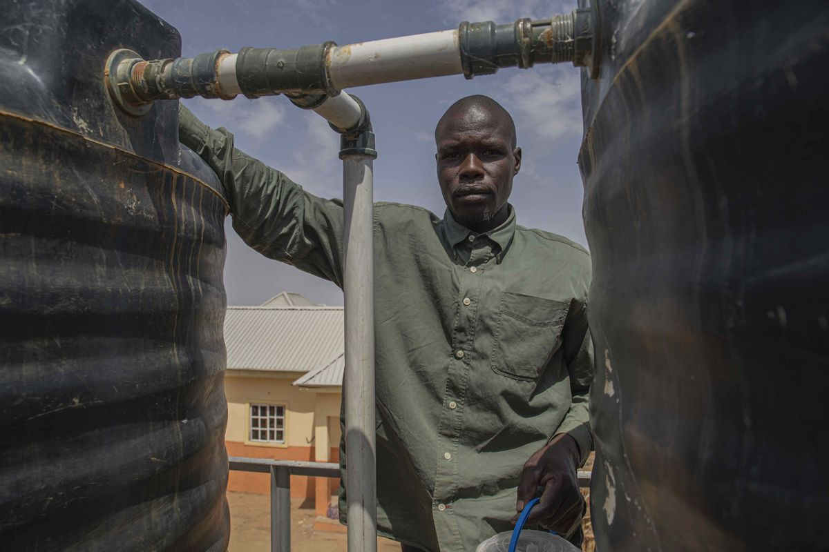 A Sunny Day in Gubio Camp: How Clean Energy is Bringing Relief to Conflict-Affected Nigeria