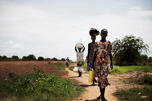 Displaced in South Sudan: A journey of 1,000 kilometers